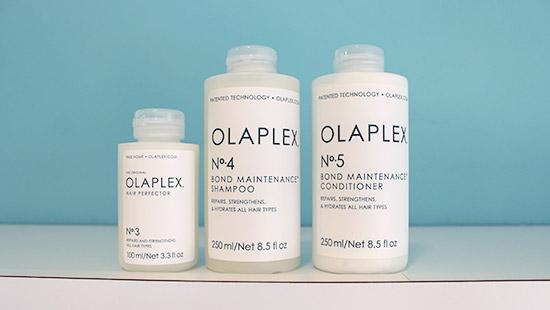Olaplex verpakkingen Dullers