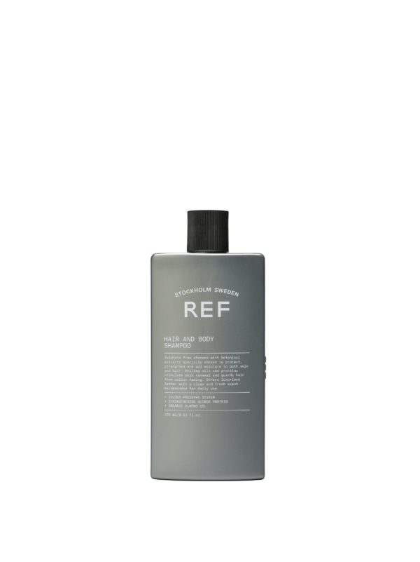 REF hair and body shampoo dullers kappers apeldoorn