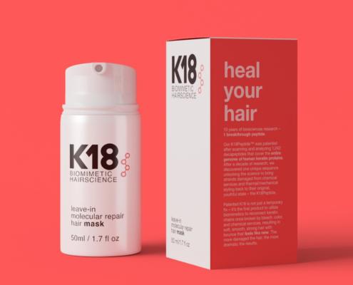 K18 leave-in moleculair repair mask dullers kappers Apeldoorn